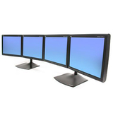 Ergotron DS100 Horizontal Quad-Monitor Desk Stand