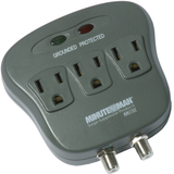 Minuteman 3-Outlets Surge Suppressor MMS130C