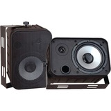 Pyle PylePro PDWR50B Indoor/Outdoor Waterproof Speakers - PDWR50B