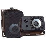 Pyle PylePro PDWR40B Indoor/Outdoor Waterproof Speakers - PDWR40B