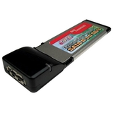 Cables Unlimited 1-Port e-SATA ExpressCard 34mm