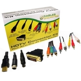 Cables Unlimited 6ft Premium HDTV Cable Kit