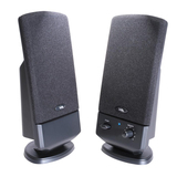 Cyber Acoustics CA-2002 2.0 Speaker System - Black CA-2002
