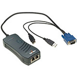 Lantronix SecureLinx Spider 1-Port Remote KVM over IP Extender