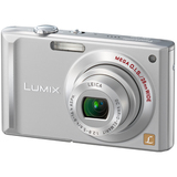 Panasonic Lumix DMC-FX55 Point & Shoot Digital Camera - Silver