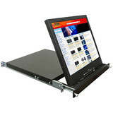 "Rose Electronics RackView 19"" Rack Mounted LCD Drawer RV1-LCD19A"