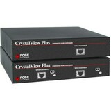 Rose Electronics CrystalView Plus Quad Video CATx Remote KVM Extender - CRVR4VAUD