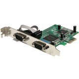 StarTech.com 2 Port PCIe RS232 Serial Adapter Card