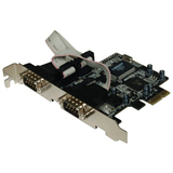 Quatech DS-PCIE-100 PCI Express Dual Port Serial Card
