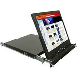 "Rose Electronics RackView 17"" Rack Mounted LCD Drawer RV1-LCD17A"