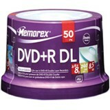 Memorex 8x DVD+R Double Layer Media - 05732