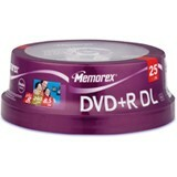 Memorex 8x DVD+R Double Layer Media - 32025712