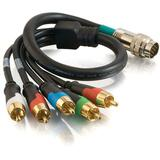 Cables To Go RapidRun Component Video + Stereo Audio V.2 Break-Away Flying Lead