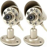Q-see QSICC Indoor Camera Kit with Night Vision & Audio