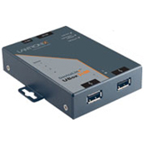 Lantronix UBox UBX2100 2-Port USB Device Server