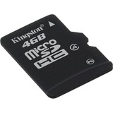 Kingston 4GB microSDHC Card - (Class 4) SDC4/4GB