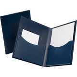 Oxford Poly Double Stuff Twin Pocket Folders