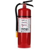 Kidde PRO 10 Fire Extinguisher - 10lb Capacity - Rechargeable, Impact Resistant - Red