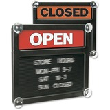 U.S. Stamp & Sign Open/Closed Letter Board