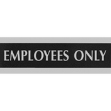 U.S. Stamp & Sign Century Employees Only Sign