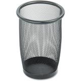Safco Round Mesh Wastebasket 9716BL