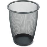 Safco Round Mesh Wastebasket 9717BL