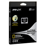 PNY 8GB Optima Pro High Speed CompactFlash Card - 133x