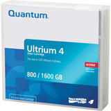 Quantum LTO Ultrium 4 WORM Tape Cartridge MR-L4MQN-02