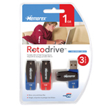 Memorex 1GB Rotodrive USB Flash Drive (3 Pack)