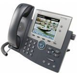 Cisco Unified 7945G IP Phone - Dark Gray, Silver CP-7945G-CH1