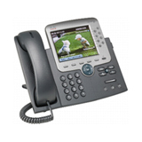 Cisco Unified 7975G IP Phone - Wall Mountable - Dark Gray, Silver CP-7975G-CH1