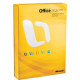 Microsoft Office:mac 2008 Home and Student Edition - Complete Product GZA-00006