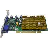 Jaton VIDEO-338PCI-128TWIN GeForce 6200 Graphics Card - PCI - 128 MB DDR SDRAM