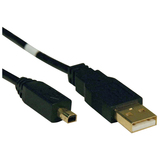 Tripp Lite Gold USB Cable (Round)