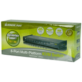 IOGEAR MiniView Ultra GCS1758KIT 8-Port KVM Switch
