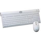 Gear Head Mac Wireless Bluetooth V.2.0 Class 2 Desktop Set Keyboard and Mouse