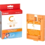 Canon E-C25L Ink Cartridge - Cyan, Magenta, Yellow