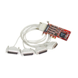 Comtrol RocketPort EXPRESS Quadcable DB25 Multiport Serial Adapter 30127-1