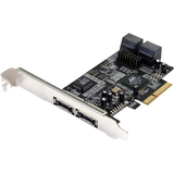 StarTech.com 2x eSATA 4x SATA PCIe Controller Card