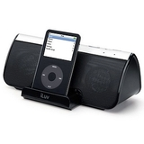iLuv i819BLK Stereo Speaker with iPod Dock