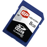 EP Memory 8GB Secure Digital High Capacity (SDHC) Card -(Class 6) - EPSDHC8GB6