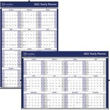 Brownline Yearly Wall Calendar