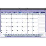 Brownline Monthly Desk/Wall Calendar Pad C181700