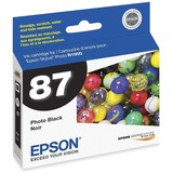 Epson UltraChrome Hi-Gloss 2 Pigment Photo Black Ink Cartridge - T087120