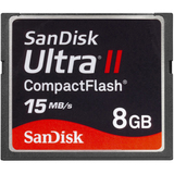 SanDisk Corporation SDCFH-008G-A11 8GB Ultra CompactFlash (CF) Card