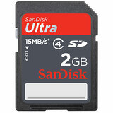 SanDisk 2GB Ultra II Secure Digital (SD) Card