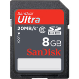 SanDisk 8GB Ultra II Secure Digital High Capacity (SDHC) High Performance Card
