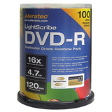 Aleratec LightScribe 16x DVD-R Media - 230115