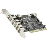 MPT 8 Port USB 2.0 / FireWire IEEE 1394 PCI Combo Adapter