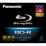 Panasonic 4x BD-R Double Layer Media